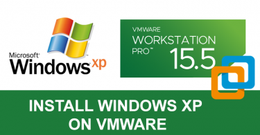 Install Windows XP on VMware