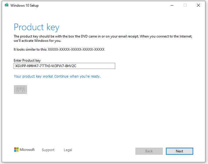 Windows 10 Generic Product Keys