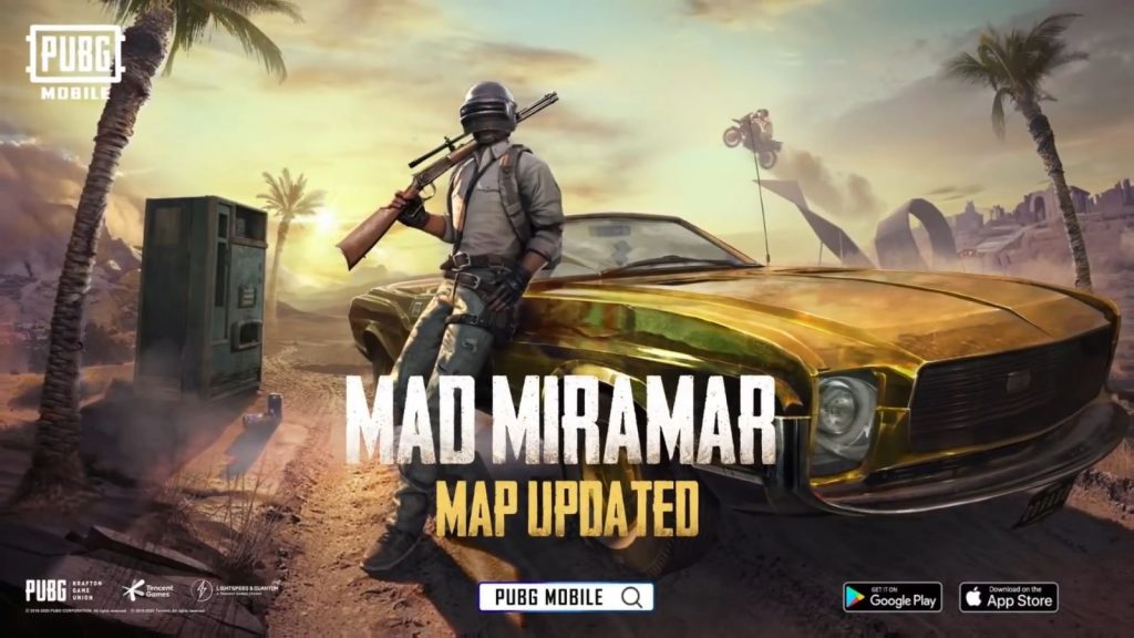 PUBG Mobile Map Update: Mad Miramar