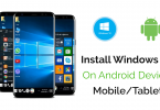 Windows 10 on android mobile