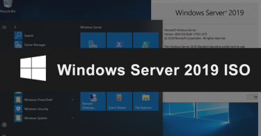 Windows Server 2019 ISO