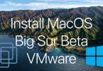 install macOS Big Sur - On Vmware