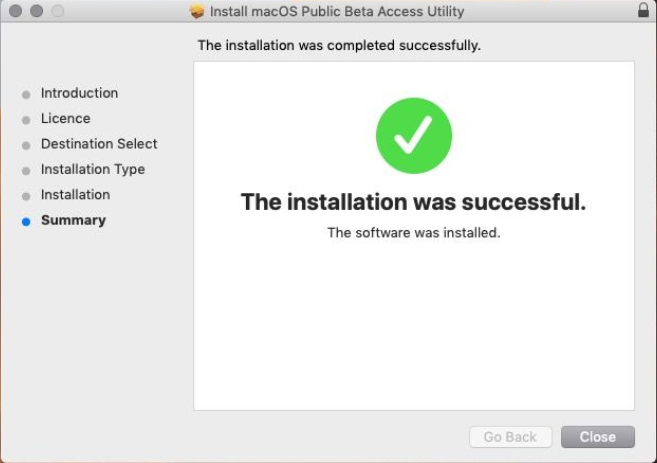 Install macOS Public Beta Utility Tool