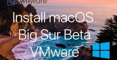 Install macOS Big Sur on Vmware