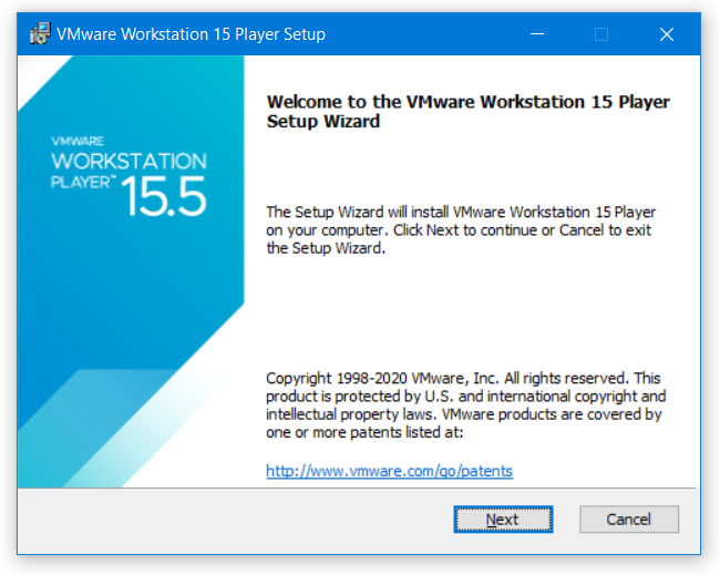 Install VMware Workstation Player